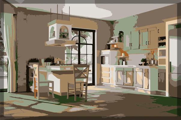 სამზარეულო Borgo Antico